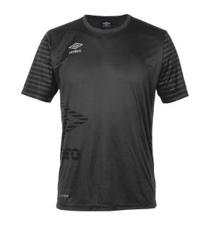 UMBRO Core Training Tee Sort M Teknisk treningstrøye