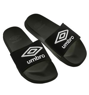UMBRO Core Slippers Sort Funksjonell og komfortabel slippers