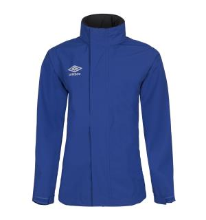 UMBRO UX Elite Rain Jacket Jr Blå 128 Regnjakke til junior